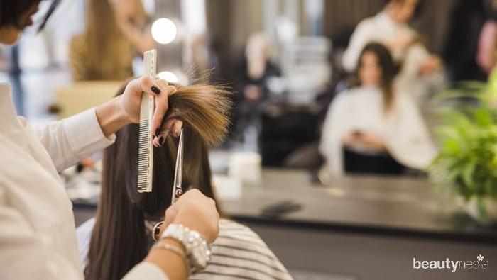 Catok & Cuci Rambut Cuma Rp 5 Ribu, Salon Murah di Yogya Ini Viral!