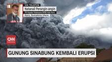 VIDEO: Erupsi Sinabung Mereda, Aktivitas Warga Kembali Normal