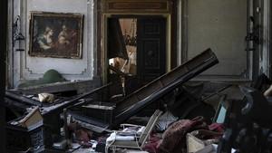 FOTO: Istana Berusia 160 Tahun Hancur Karena Ledakan Beirut