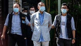 China Sebut Taipan Pro-Demokrasi Hong Kong Membahayakan