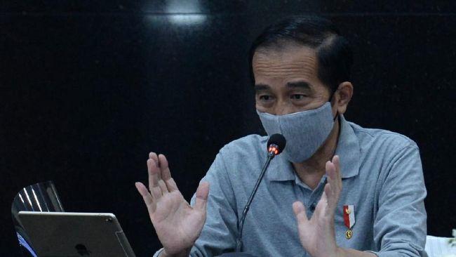 Presiden Jokowi dalam peringatan Hari Pramuka yang digelar daring menyebut gerakan kedisiplinan dan kepedulian nasional bisa menghambat penyebaran Covid-19.