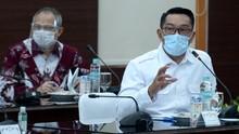 Ridwan Kamil Dampingi Jokowi Tinjau Uji Klinis Vaksin Corona