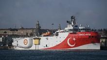 Sengketa Migas dengan Yunani, Turki Tarik Kapal ke Pelabuhan