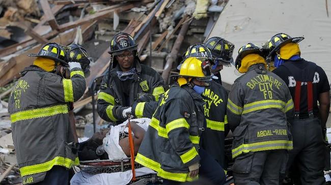 Ledakan gas alam terjadi di Baltimore, Amerika Serikat pada Senin (10/8) hingga menewaskan seorang perempuan.