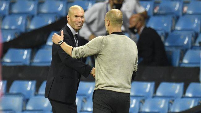 Pep Guardiola mengungkapkan obrolan seru dengan Zinedine Zidane usai Manchester City sukses menyingkirkan Real Madrid di Liga Champions.