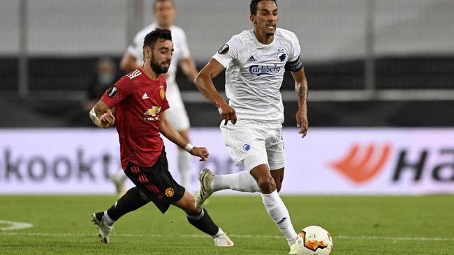 Manchester United ditahan imbang 0-0 Copenhagen sementara Inter Milan berhasil unggul 2-1 atas Bayer Leverkusen di babak pertama perempat final Liga Europa.