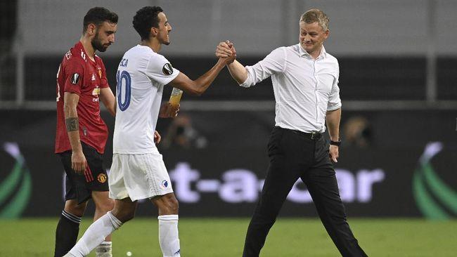 Dikalahkan Manchester United 0-1, kapten Copenhagen Zeca diklaim malah berterima kasih kepada Ole Gunnar Solskjaer.