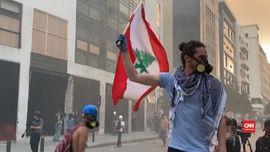 VIDEO: PM Libanon Mundur, Warga Bentrok