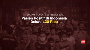 VIDEO: Kasus Positif Covid-19 Indonesia Capai 128.776