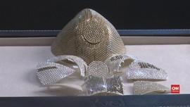 VIDEO: Israel Bikin Masker dari Emas, Termahal di Dunia