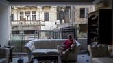 Ledakan dahsyat yang terjadi di pelabhuan Beirut, Libanon menghancurkan rumah, gedung, meratakan pintu dan jendela milik warga.