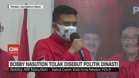 VIDEO: Bobby Nasution Tolak Disebut Politik Dinasti