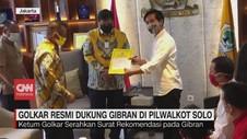 VIDEO: Golkar Resmi Dukung Gibran di Pilwakot Solo