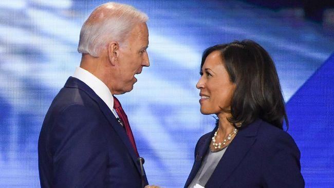 Joe Biden mengaku bersama Kamala Harris akan memperbaiki AS yang dalam kondisi kekacauan akibat kepemimpinan Donald Trump.