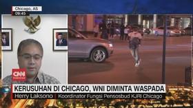 VIDEO: Kerusuhan di Chicago, WNI Diminta Waspada