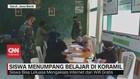 VIDEO: Siswa Menumpang Belajar di Koramil Demi Wifi Gratis