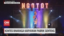 VIDEO: Kontes Binaraga Karyawan Pabrik Genteng