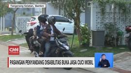 VIDEO: Pasangan Penyandang Disabilitas Buka Jasa Cuci Mobil