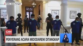 VIDEO: Lima Orang Penyerang Acara Midodareni Ditangkap