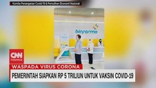 VIDEO: Pemerintah Siapkan Rp.5 Triliun Untuk Vaksin Covid-19