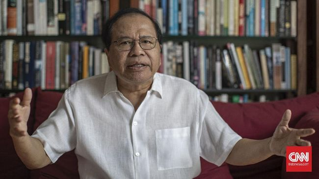 Rizal Ramli menyebut para hakim MK takut beradu argumen dengan dirinya selaku penggugat ambang batas presiden.