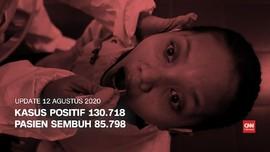 VIDEO: Kasus Positif Covid-19 Tembus 130 Ribu Per 12 Agustus