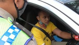VIDEO: Razia Ganjil Genap, Polisi dan Pengendara Adu Mulut
