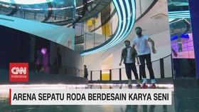 VIDEO: Arena Sepatu Roda Berdesain Karya Seni
