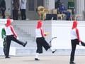 FOTO: Jokowi Saksikan Gladi Kotor Upacara Kemerdekaan RI