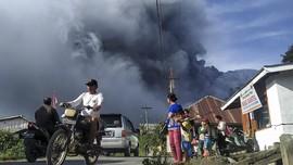 Erupsi Gunung Sinabung, Warga Diimbau Waspada Bahaya Lahar