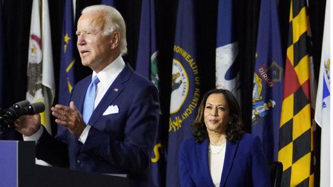 Capres dan Cawapres dari Partai Demokrat AS, Joe Biden dan Kamala Harris, membeberkan jumlah pajak penghasilan menjelang debat perdana Pilpres 2020.