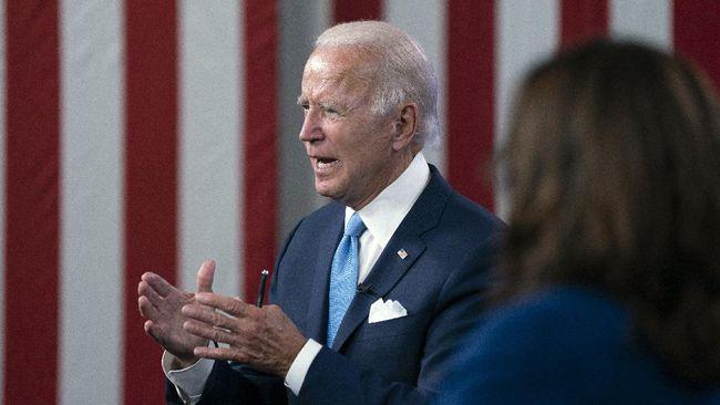 Partai Demokrat secara resmi menetapkan Joe Biden sebagai calon presiden Amerika Serikat untuk menantang petahana Donald Trump.