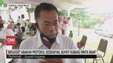 VIDEO: Bupati Subang Minta Maaf Terkait Joget Massal