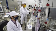 Unair: Vaksin Merah Putih Tak Terganggu Peleburan Kemenristek