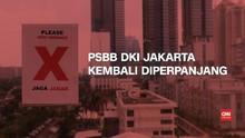 VIDEO: DKI Jakarta Kembali Perpanjang PSBB Transisi ke-4