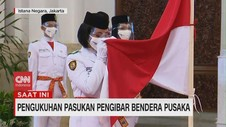 VIDEO: Upacara Pengukuhan Paskibraka 2020 di Istana Negara