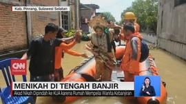 VIDEO: Warga Menikah di Tengah Banjir