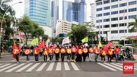 Tak Puas Dialog dengan Mahfud, Buruh Jatim Aksi Lagi Besok