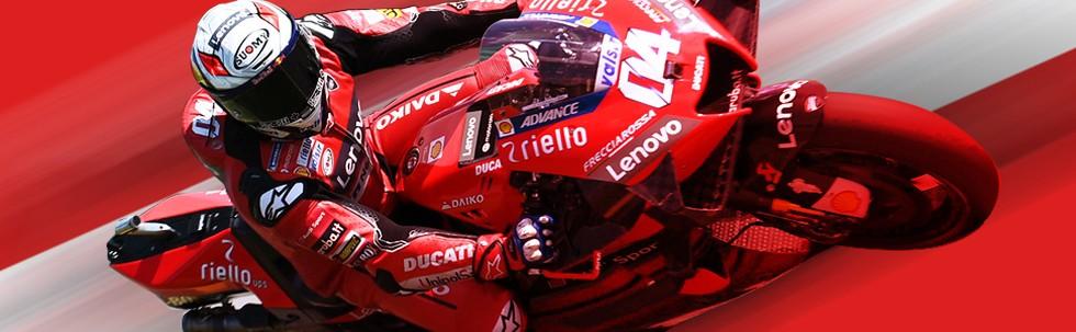 Menantang Hujan di MotoGP Austria 2020