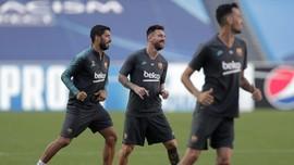 Rumor Barcelona: Messi Gabung Senin, Suarez Latihan Terpisah