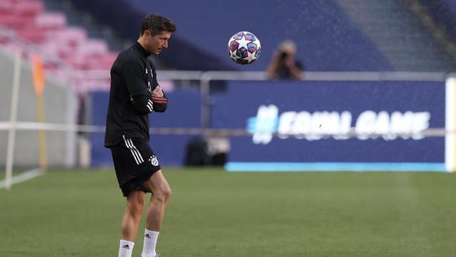 Lionel Messi memimpin persiapan terakhir Barcelona jelang melawan Bayern Munchen dalam perempat final Liga Champions, Sabtu (15/8) dini hari.