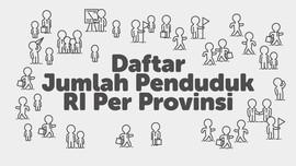 INFOGRAFIS: Jumlah Penduduk Indonesia Per Provinsi