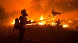 Kebakaran Hutan California, Penduduk Diminta Siaga