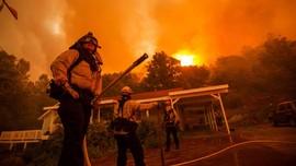 Donald Trump Deklarasi Kebakaran California Bencana Besar