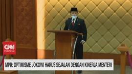 VIDEO: MPR Apresiasi Pidato Kenegaraan Presiden Jokowi