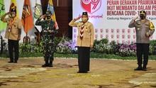 Jokowi Sampaikan 2 Pesan Khusus di Hari Pramuka