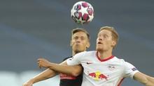 Atletico Ditahan Imbang Leipzig di Babak Pertama