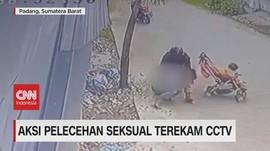 VIDEO: Aksi Pelecehan Seksual Terekam CCTV