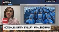 VIDEO: Penumpang Pesawat Pakai APD di Bandara Changi
