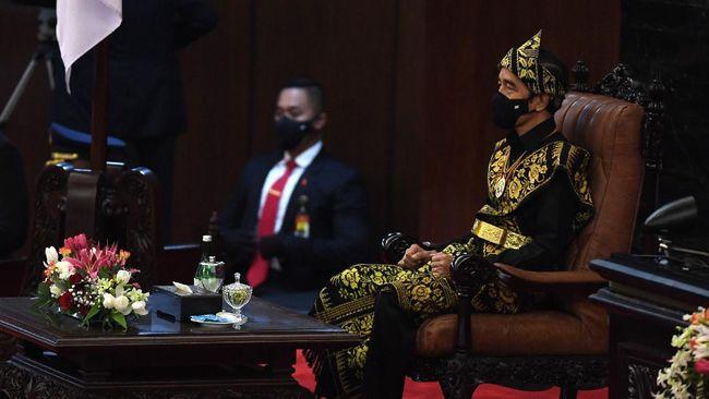 Presiden Jokowi mengalokasikan dana untuk ketahanan pangan 2021 sebesar Rp104,2 triliun. Sebagian dana akan digunakan untuk pengembangan food estate.